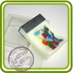 Заготовка ПЛАСТИК - пластиковая форма для мыла