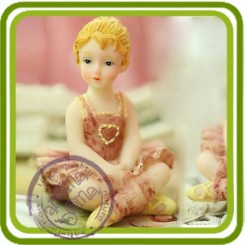 Балерина (м) 1- Объемная силиконовая форма для мыла
