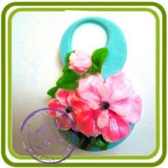 8 марта (яблоневый цвет) 2d - Авторская силиконовая форма для мыла