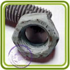 Гайка - Объемная силиконовая форма для мыла