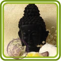 Будда (голова) - 3D силиконовая форма для мыла, свечей, шоколада, гипса и пр.