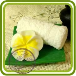 Франжипани (плюмерия) - 3D силиконовая форма для мыла, свечей, шоколада, гипса и пр.