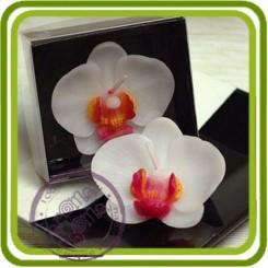 Орхидея малая - 3D силиконовая форма для мыла, свечей, шоколада, гипса и пр.