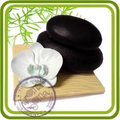 Подставка (ложемент)  - Объемная силиконовая форма для мыла