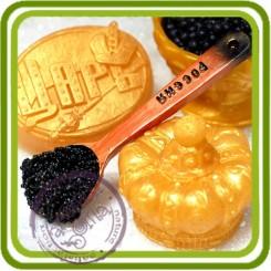 Ложечка с икрой - Объемная силиконовая форма для мыла