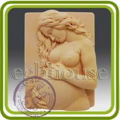Беременность - Объемная силиконовая форма для мыла