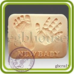 Петушок 2D - Объемная силиконовая форма для мыла, свечей, гипса, шоколада и пр.