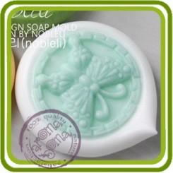 Бабочка (капля) 2d - силиконовая форма для мыла, свечей, шоколада, гипса и пр.