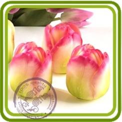 Бутон тюльпана (большой) 3d - Объемная силиконовая форма для мыла