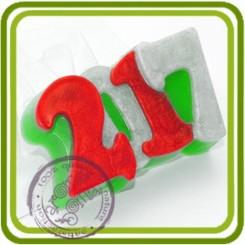 2017 - пластиковая форма для мыла