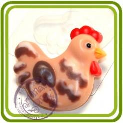 Курочка мульт - пластиковая форма для мыла