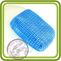 Вязаное (прямоуг.) - пластиковая форма для мыла