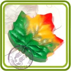 Лист Клена 2 - пластиковая форма для мыла