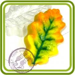 Лист Дуба 2 - пластиковая форма для мыла