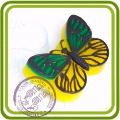 Бабочка 2 - пластиковая форма для мыла