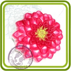 Георгин - пластиковая форма для мыла