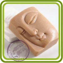 Будда - 2D силиконовая форма для мыла, свечей, шоколада, гипса и пр.